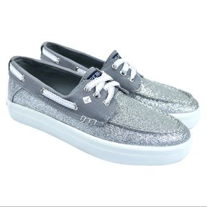 Sperry Top Siders Crest Resort Glitter Boat Shoes